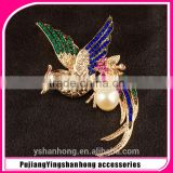 peacock brooch,modern design bird brooches,fashion elegant phoenix brooches BRC-0098