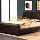 Europe Design Leather Bed Bed-P-102