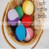 Customized Softballs & Baseballs,Soft Rattle Balls to Sew: Free Tutorial have soft sound for baby inside ball