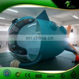 Factory Customized RC Inflatable Flying Fish , Inflatable Airplane , RC Zeppelin Balloon