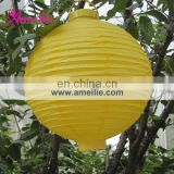 A100PL High quality handmade yellow paper lanterns
