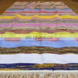 Chindi Rug Cotton Handmade Floor Home Decor Runner Dari