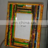 Recycled Tin Photo Frame 4x6