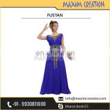 New Arabian Khaleeji Fustan Wedding Dress Party Wear Gown