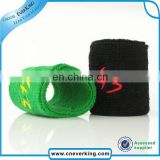 2015 New arrival custom cheap cotton wristband mens sports wristbands