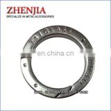 Customer's Logo, Metal Spring Gate Flat O-ring