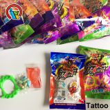Halloween Teeth Jam Plus Teeth Compressed Candy Toys Tattoo