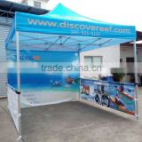 windproof and waterproof event canopy custom logo advertising pop up custom printed gazebo