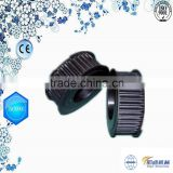 Plastic combined ceramic pulley for wire guiding wire guide pulley
