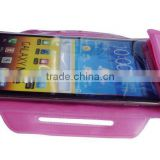 TPU recycling material wrist mobile phone zipper case for samsung galaxy note II beach dry bag