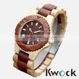 Japan Quartz Movement High Quality 100% Natural Eco-friendly Wood Watch For New Fashion And Environmental Hand Craft Watch