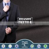 Low price BV certified Men suit Polyester rayon textile fabric stocklot