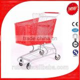 Alumium shopping cart cover for baby seat