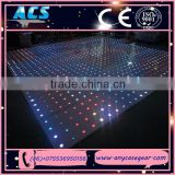 ACS DMX Control led starlights dance floor/ DMX Control led RGB starlit dance floor/ DMX Control LED Catwalk panel