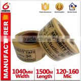Custom Water Activated Printed Kraft Paper floor tape,Easy tear Kraft Paper made in China
