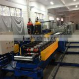 PU metal insulation exterior wall panel machine