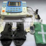 CE certification portable electrode tens unit laser therapy ultrasonic therapy with foot massage