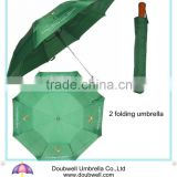 semi automatic open 2 folding umbrella