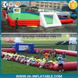 new inflatable soccer field for sale inflatable soccer games inflatable football field                                                                                                         Supplier's Choice