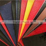 pvc film leathertte for package and folders pvc artificial leather with 0.3-0.8 mm thickness