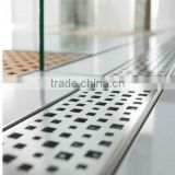 stainless steel shower channel drain cover