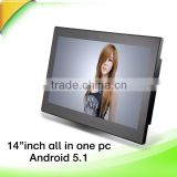 15 inch cheap all in one computer pc touch screen for shopping mall exhibition expo                                                                                                         Supplier's Choice