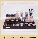manufacturer cosmetic display, high quality acrylic makeup organizer, factory direct cosmetic display