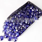 AAA Beautiful Natural Tanzanite Cubic Zirconia CZ Loose Gemstone Beads Bead Cabs 6mm, 8mm, 10mm Round Briolette handmade beads