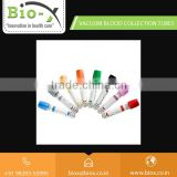 Transparent Design Blood Collection Tube with Color Coded for Easy Differentiation