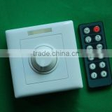 Hot rf remote control 1 channel dimmer/12v automatic led infrared zigbee wireless dimmer switch