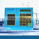 clamp on type battery-operated ultrasonic gas flow meter