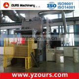 wet sandblasting cabinet, Cast steel shot blasting machine for coating line