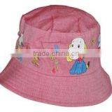 New Product Kids Animal Cartoon Summer Bucket Hats Sunhat With Cute Dog Baby Summer Hats