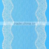 Factory Direct Sales Dyeable Woven Decorative Nylon Lace Trim