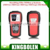 [Autel Distributor] Top-Rated 100% Original Autel Code Reader Maxidiag Elite MD802 For 4 System