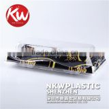 KW-0001 Disposable Plastic PS/BOPS Colorful Printed wholesale high end sushi tray/plates sushi tools for take away