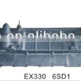 good sale hitachi excavator engine parts for EX330 6SD1 oil cooler cover