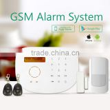 High Protection Home Security Wireless Anti-theft GSM Alarm System & anti-burglar alarm/fire alarm/gas alarm