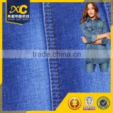 Breathable 4.5oz denim 100 cotton fabric for t-shirt