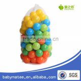 Babymatee transparent LDPE ball,Soft Plastic toy balls,Water Pool Ocean Ball Baby Kid Swim Pit Toy