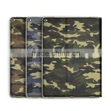 Camouflage stander Leather case Manufacturers wallet Smart cover for Ipad pro with Sleeping function