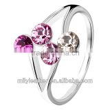 2014 Latest Diameond Rings China Whole Sale Rings for Women Ring Prices MLCR009