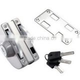Good polish tempered glass door lock with great price