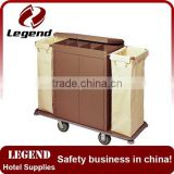 Multifunction Housekeeping Cleaning hotel trolley with Cabinet