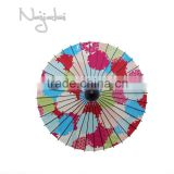 Candy Colors Hand Painted Handmade Japanese Traditional Paper Umbrella