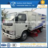 Dongfeng 4x2 water and garbage tank price of road sweeper truck for sale                                                                         Quality Choice