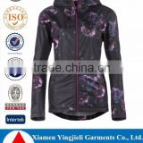 Woman's Reflective Safety Waterproof Rain Jacket Fabric
