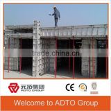 ADTO GROUP formwork system,aluminium concrete forms sale, Widely used concrete aluminium formwork