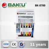 BAKU sery cell phone repair screwdriver set with opening tools (BK-8700)
