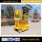 New technology hydraulic drive motor self propelled scissor lift                                                                         Quality Choice